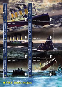 turcs et caicos King In The North, Rms Titanic, Turks And Caicos, Pearl Harbor, Tsunami, Stamps, Sisters, Banknote, Roosevelt