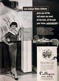 Search Vintage Ad Browser Culligan Retro Ads Water Softener