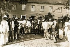 Yellow Fever Control Workers, Martinique, ca 1908