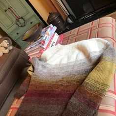 All Seasons Slippers Knitting Pattern.