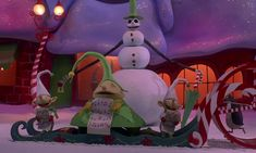 nightmare before christmas christmas town - Google Search