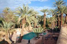 Vue générale de la piscine - Dar Qamar - Ouarzazate