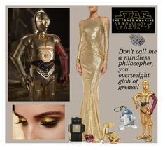 """""""Star Wars: C3PO quote"""" by molly2222 ❤ liked on Polyvore featuring Donna Karan, Mia Limited Edition, MCM, Episode, R2, ThinkGeek, starwars, contestentry and theforceawakens"""