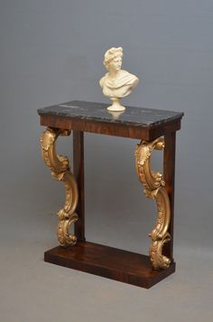 Magnificent Regency Console Table - Hall Table. restored and ready to be placed in your home. C1820