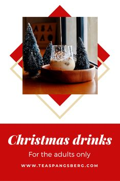 Christmas drinks for the adults only. Delicious and christmassy Merry Christmas Love, Christmas Music, White Christmas, Chocolate Powder, Hot Chocolate, Irish Coffee, Christmas Cocktails, Mulled Wine, Christmas Vacation