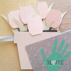 #3d #creativcards #handmade  #springcards #tulips
