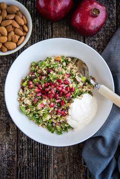 Almond, Quinoa and Pomegranate Salad — Amazing Almonds