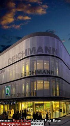 Fabric Facades - Germany - Deichmann - Mesh fabric Stamisol by Serge Ferrari