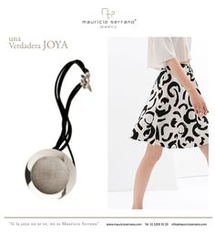 Let Yourself Go!!!! This Summer Explore Fashion with a Jewelry Twist. #UnaVerdaderaJoya  #MauricioSerrano #Mexico #2014 #Joyas #Diseñador #Fashion #Love #Art #Silver #Plata #Jewelry #Summer