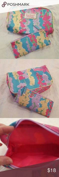 Lilly Pulitzer makeup bag set Lilly Pulitzer makeup bag set NWOT Lilly Pulitzer Bags Cosmetic Bags & Cases