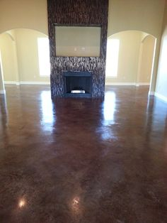 Your Living Room Could Look This Rich With Walnut Stain Floors