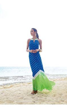 Lilly Pulitzer - Winnie Maxi Dress. Beach wedding guest