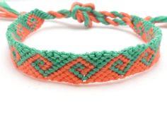 Knotted friendship bracelet tidal wave pink & door BrightVillage
