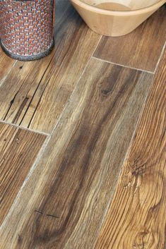 Home decorators collection distressed brown hickory 12 mm for Country home collections flooring