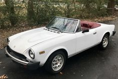 1982 Fiat 124 Spider 2000 : Registry : The AutoShrine Network Fiat 124 Sport Spider, Fiat 124 Spider, S Car, First Car, Car Photos, Sport Cars, Cars And Motorcycles, Classic Cars, Passion