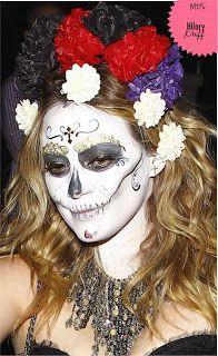 Sofia Olbrich: Dica de Maquiagem: Caveira Mexicana