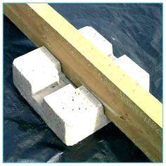 Concrete Deck Block Blocks Home Depot Piers Footing Footings Precast