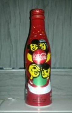 One coca-cola aluminum bottle - Brazil world cup 2014