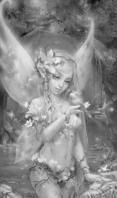 143 best images about Fairy Grayscale Fairy Coloring Pages, Adult Coloring Pages, Coloring Book, Fantasy Kunst, Fantasy Art, Elfen Tattoo, Fairy Drawings, Fairy Tattoo Designs, Fairy Pictures