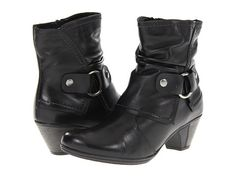 Rieker D1278 Annemarie 78 Black Leather - Zappos.com Free Shipping BOTH Ways size 10