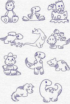 Free Embroidery Designs, Sweet Embroidery, Designs Index Page Hand Embroidery Patterns, Applique Patterns, Cross Stitch Embroidery, Machine Embroidery Designs, Baby Applique, Doodle Drawings, Digital Stamps, Coloring Pages, Needlework