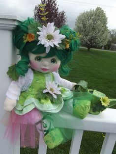 OOAK Mattel My Child Doll ~ Garden Fairy ~ Commission Doll