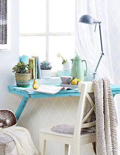 Tee itse sivupöytä   Unelmien Talo&Koti Kuva Riikka Kantinkoski Toimittaja Hanna Sandström