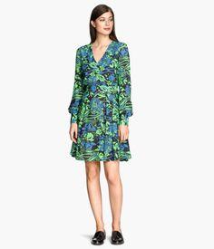H&M Patterned Dress $30