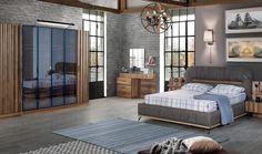 Pera Ahşap Yatak Odası #bedroom #avangarde #yatakodası #pinterest #yildizmobilya #furniture #room #home #ev #young #decoration #moda #trend https://www.yildizmobilya.com.tr/pera-ahsap-yatak-odasi-pmu5376