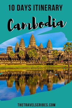 If you're looking for the perfect itinerary for how to spend 10 days in Cambodia then look no further. Here's our jam-packed guide on the best things to do! Cambodia Itinerary, Cambodia Beaches, Cambodia Travel, Visit Thailand, Thailand Travel, Asia Travel, Backpacking South America, Backpacking Europe, Thailand Adventure