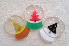 Shrink Paper, Shrink Art, Shrink Film, Diy Shrink Plastic Jewelry, Plastic Fou, Globe Ornament, Shrinky Dinks, Camping Crafts, Resin Crafts