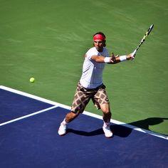 Rafael Nadal: forehand backswing