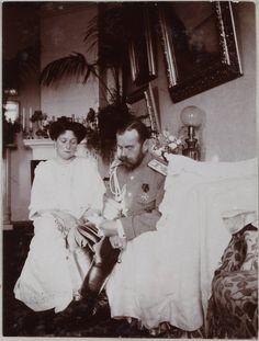 Alix, Nicky. Spala 1912