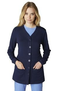 95861e21af0 Sweater by KOI, Style: 440-12 Scrub Jackets, Front Button, Cardigan