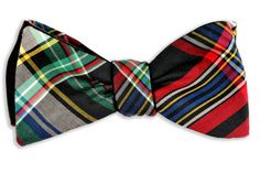 High Cotton | McAden Plaid Reversible Bow Tie