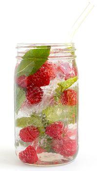 Blog - Frambozen Munt Fruit Water | Recept