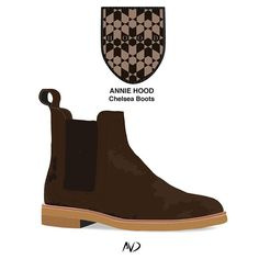 @annie___hood  Brown Suede chelsea boots Online now