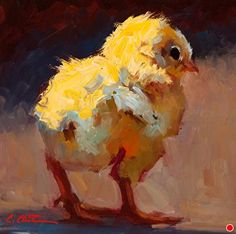 First Day Out, Cheri Christensen, Eisenhauer Gallery Chicken Painting, Chicken Art, Paintings I Love, Animal Paintings, Wildlife Paintings, Watercolor Bird, Watercolor Paintings, Rooster Painting, Cow Art