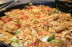 Mycket got Nasi Goreng, One Pot Meals, Easy Meals, Food For The Gods, Good Food, Yummy Food, Foods With Gluten, Wok, I Foods