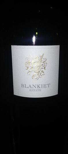 2009 Blankiet Estate Rive Droite Paradise Hills Vineyard - USA, California,…