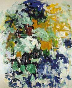cavetocanvas: Joan Mitchell, Chord VII, 1987