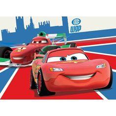 Auto kinderbed \'Cars McQueen\' | McQueen and Bureaus
