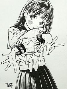 Anime Art Girl, Manga Girl, Tanaka Kou, Character Art, Character Design, A Level Art Sketchbook, Cute Love Memes, Drawing Reference Poses, Anime Couples Manga