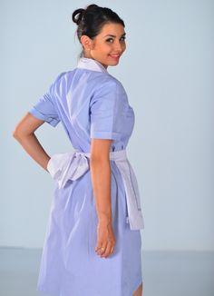 Staff Uniforms, Maid Uniform, Maid Dress, High Neck Dress, Casual, Boutique, Dresses, Fashion, Clothing