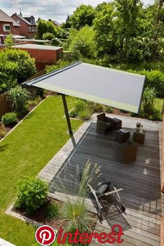 Markilux Planet Awning - Shading for Open Space Though early inside principle, your pergola may Outdoor Shade, Patio Shade, Pergola Shade, Shade Garden, Backyard Shade, Shade For Deck, Diy Pergola, Pergola Swing, Pergola With Roof