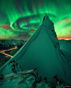 #lieberDschinni Ein großer Wunsch von mir ist es, das Polarlicht einmal live sehen zu können