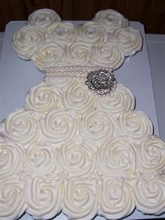 bridal shower cupcakes shaped like wedding dress | share this twitter email facebook pinterest like this like loading