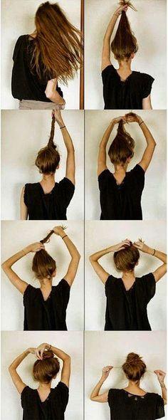 messy-ballerina-bun-top-knot-how-to