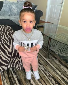 Mixed Baby Boy, Cute Mixed Babies, Cute Black Babies, Beautiful Black Babies, Cute Babies, Cute Little Girls Outfits, Pretty Little Girls, Kids Outfits, Baby Outfits