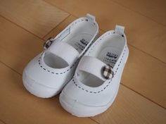 幼稚園 上履き 上靴 バレエシューズ アレンジ デコ 簡単 ハンドメイド School Items, Diy And Crafts, Sewing, Sneakers, Cute, Kids, Handmade, Shoes, Yahoo